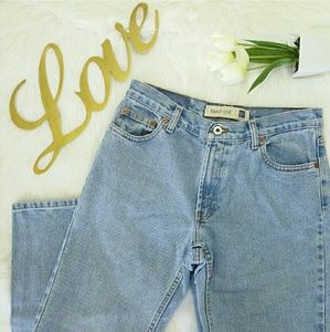 Gap High Waisted Ankle Jeans Size 8